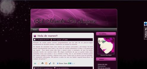 Imagen del nuevo blog
